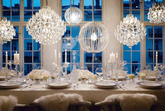 Winter Dinner Party Decoration Ideas