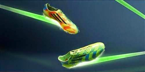 2014 Adidas F50 Adizero Crazylight FG with Neon Orange