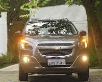 Lançamento da Chevrolet Spin carro com 7 lugares
