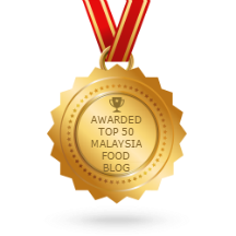 Kitchen Flavours is in Top 50 Malaysia Food Blogs List!