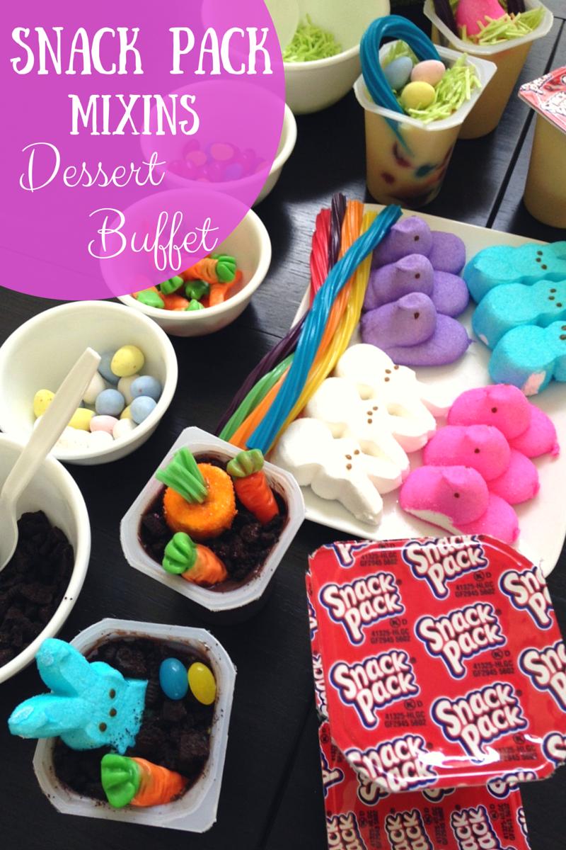 Easter Dessert Buffet