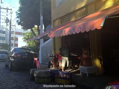 Platô Bar e Restaurante: Fachada