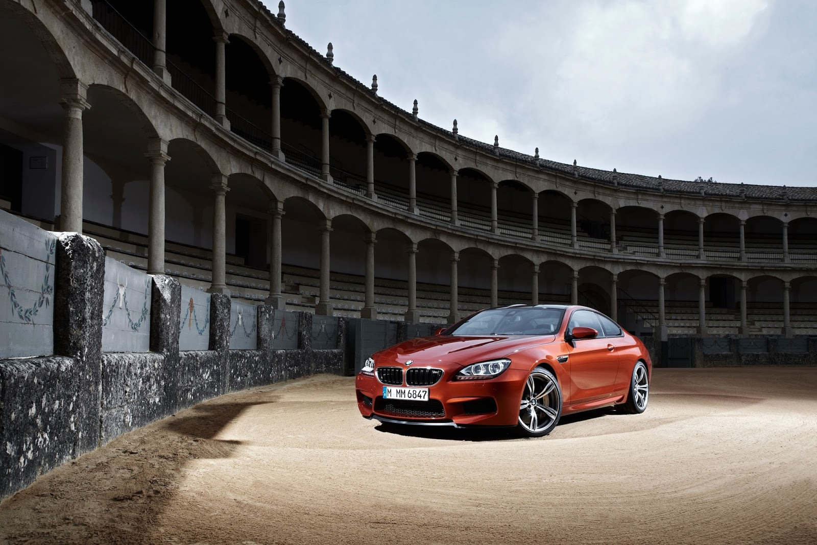 BMWの壁紙 M6クーペ