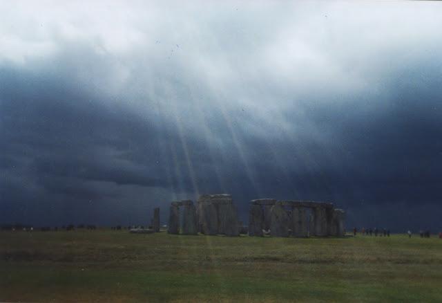 Hazy Sunshine at Stonehenge