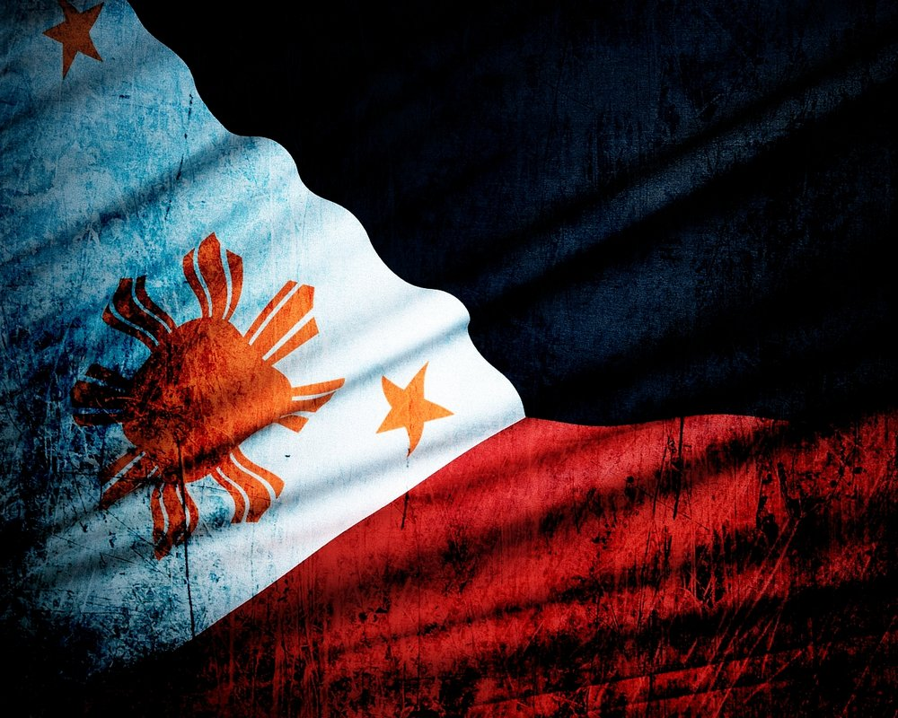history of philippine flag Philippines flag - information about philippinesn flag - the flag of philippines is a horizontal tricolour of yellow, blue and red with the yellow band in the top half of the flag and the blue and red bands in equal proportion in the bottom half - history, colors meaning, protocol & display rules, and pictures of the flag of philippines.