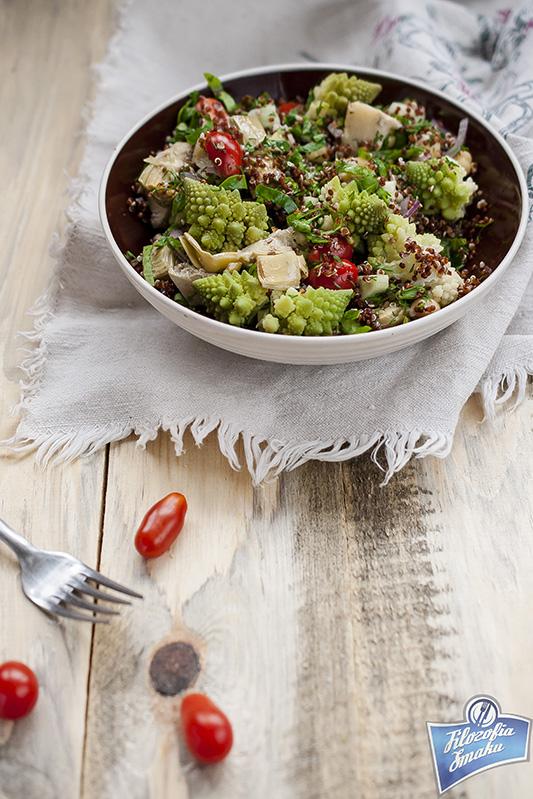 Sałatka z quinoa i kalafiora