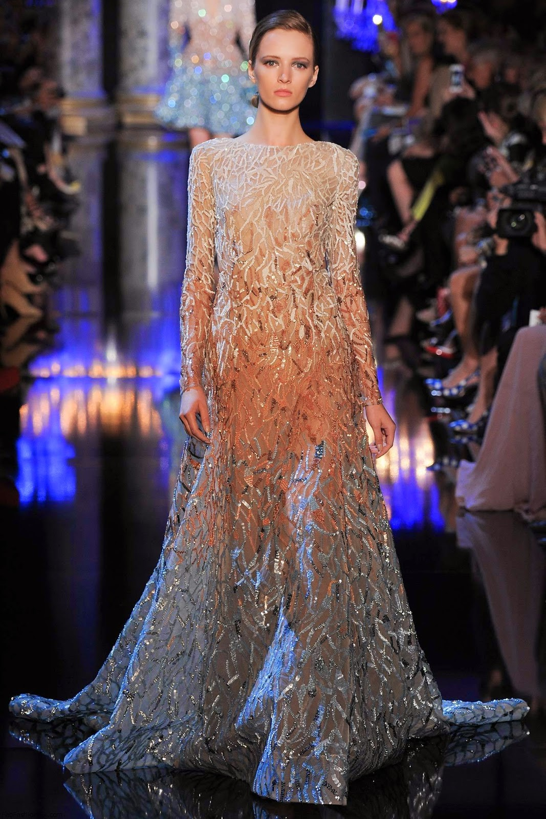 Collection haute couture elie saab automne hiver 2014 2015 for Haute couture 2015