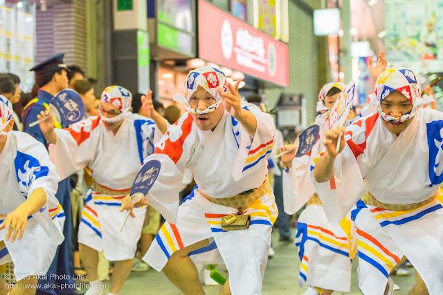 飛鳥連 高円寺阿波踊り(ふれ) 2015の動画