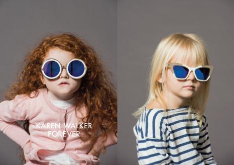 Karen Walker Forever Eyewear Campaign by Derek Henderson