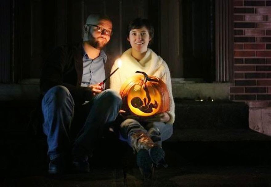 30 Of The Most Creative Baby Announcements Ever - Skilled Pumpkin Carver