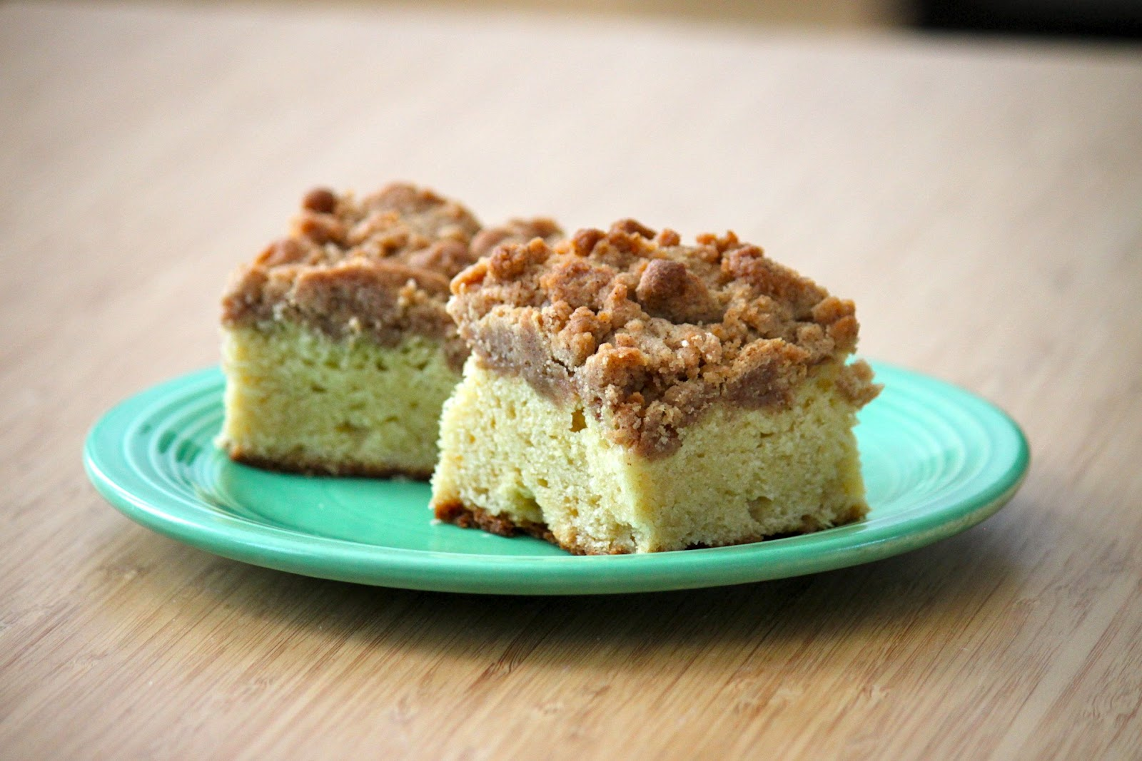 Baked Perfection: New York Crumb Cake
