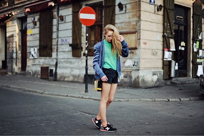 Mixing up clothes vuelven las new balance - Madrid chic style ...