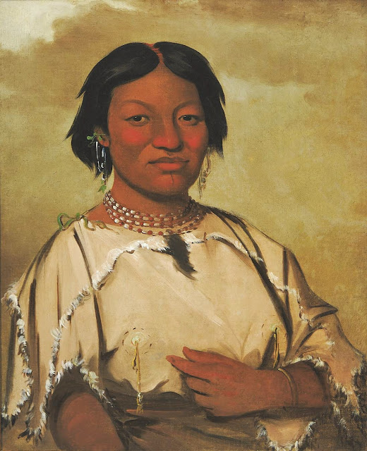 Native American Women Artists George catlin  american artist  1796    Native American Women Artists