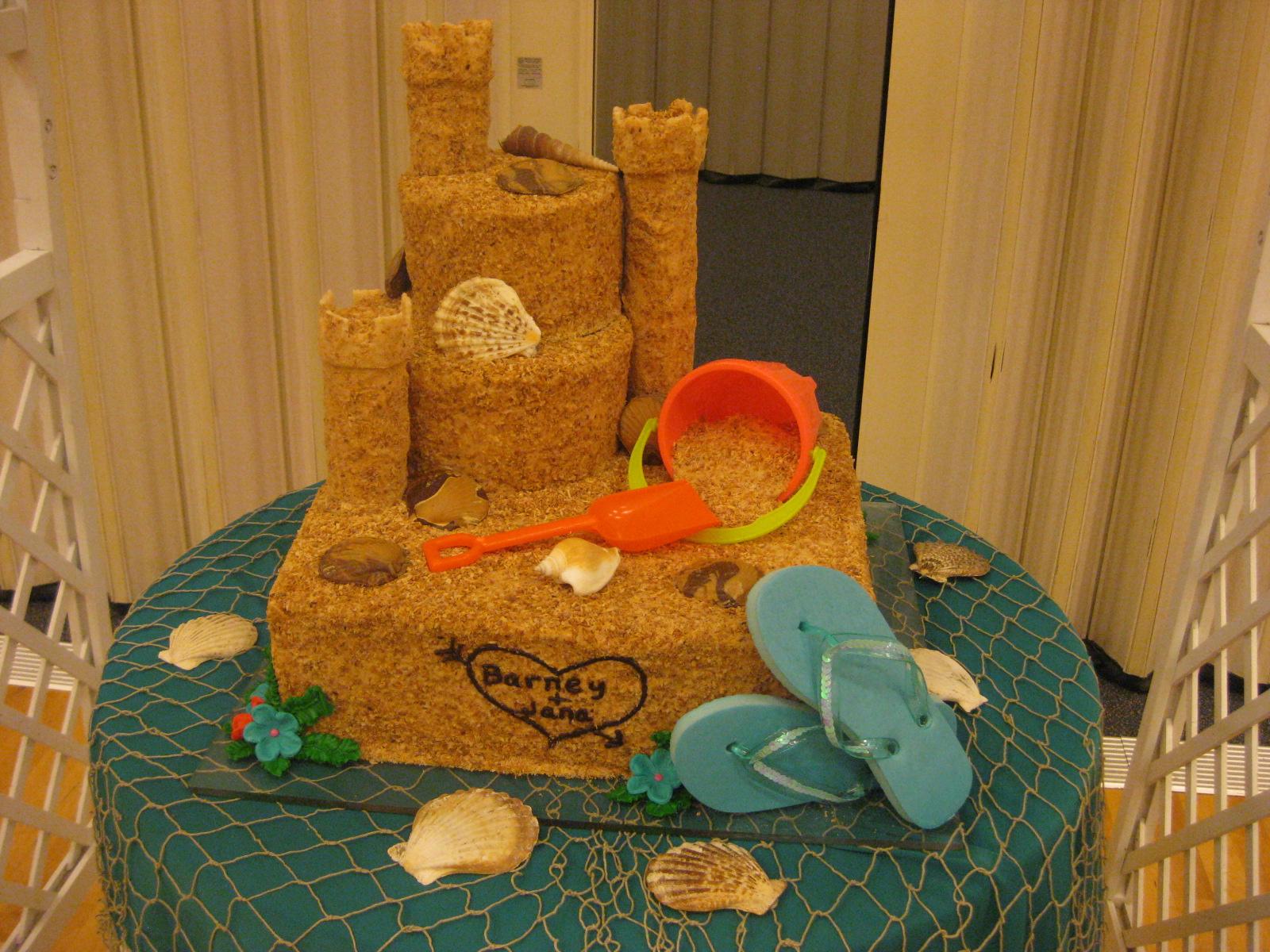 Wedding Cakes By Dawna Sand Castle
