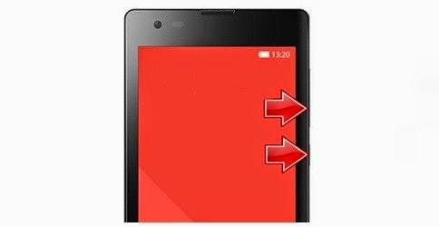 Masuk Recovery Mode HP Xiaomi