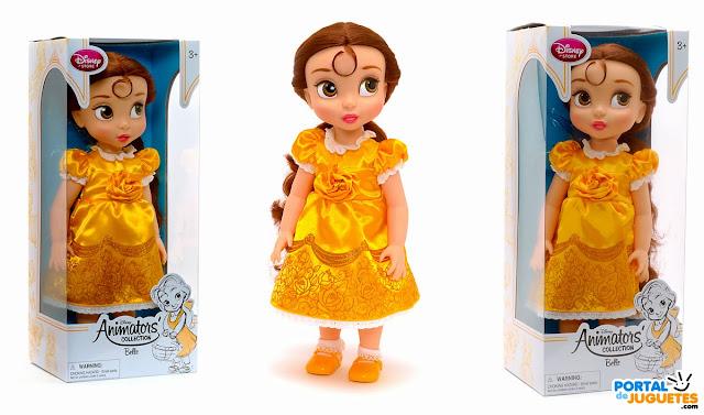 muñeca bella coleccion disney animators nueva edicion