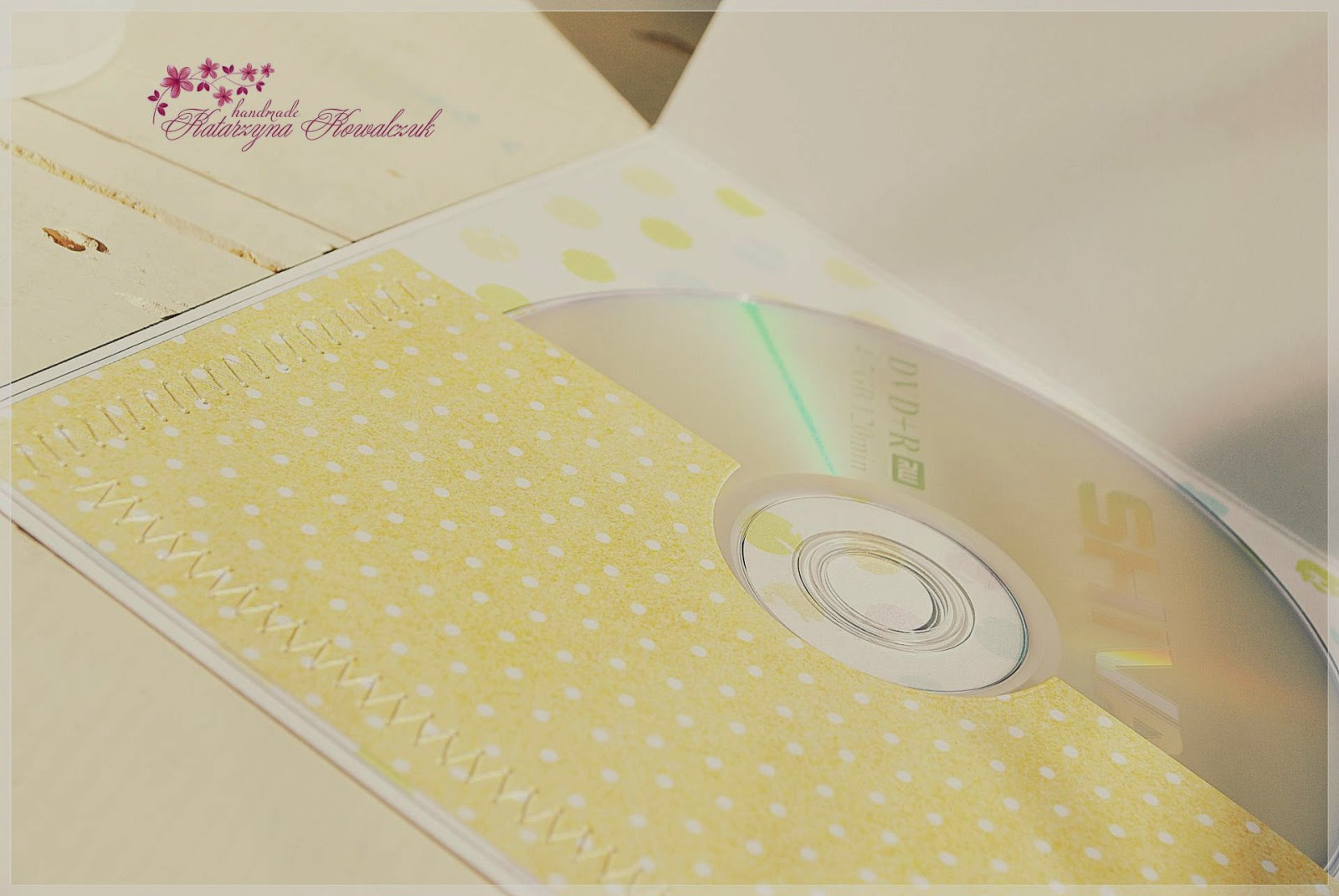 Folder na Płytę CD scrapbooking