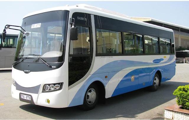 ISUZU SAMCO xe 29 chỗ
