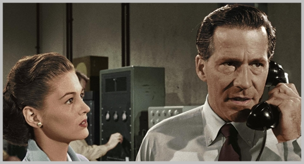 Hugh Marlowe and Joan Taylor, The Earth vs. the flying saucers