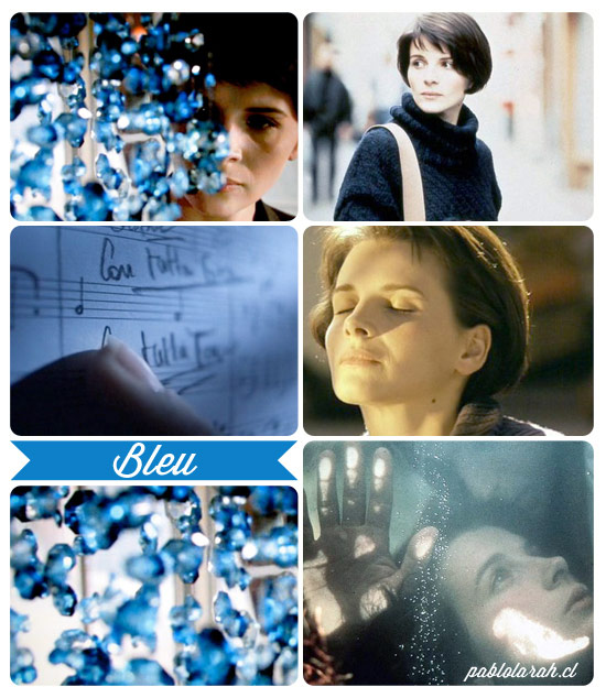 Inspiration, Krzysztof Kieslowski,Three Colors: Blue,Collage