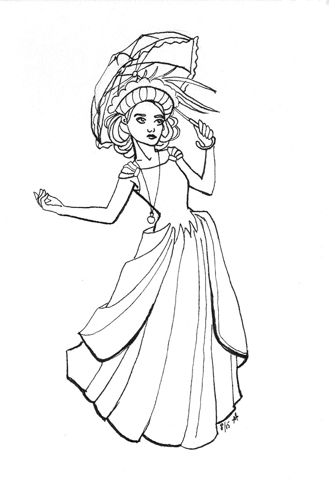 Coloring pages rainy day - Rainy Day