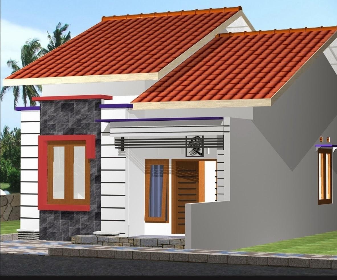 Desain Rumah Gratis Type 45