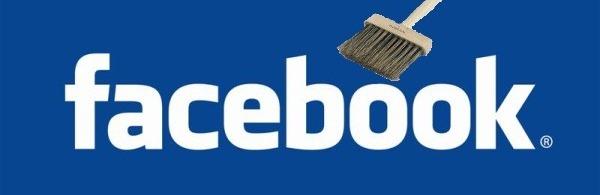 Eliminando amigos del Facebook