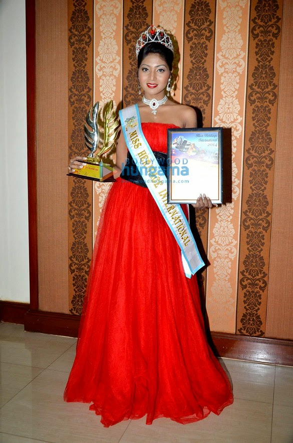 Shital Upare crowned as second runner-up Miss Heritage International