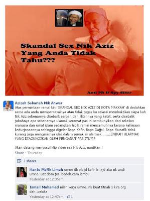 Skandal Seks Tok Guru Nik Aziz