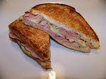Ham-Muenster Grilled Cheese