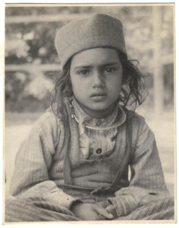 Portrait of a Little Indian Child - 1945
