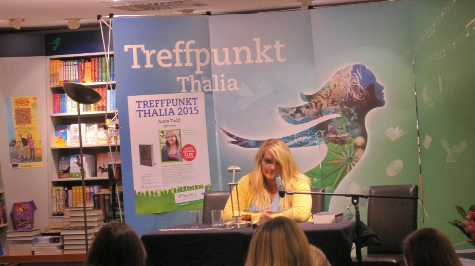 [Lesung] 2015-04.21 - Anna Todd in Mannheim After passion After truth