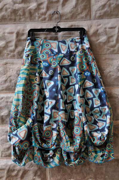 Crazy print skirt!!!