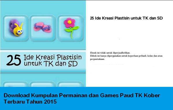 Download Kumpulan Permainan dan Games Paud TK Kober Terbaru Tahun 2015
