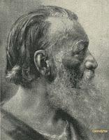 Hendrik Conscience op oudere leeftijd