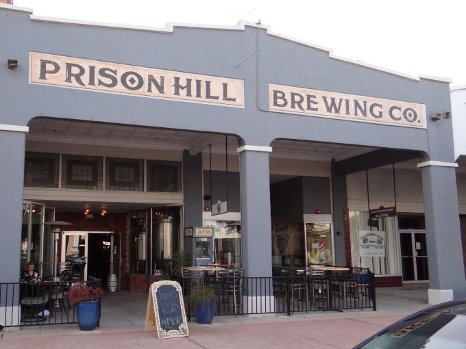 Drinks At Prison Hill Brewing Company In Yuma Arizona