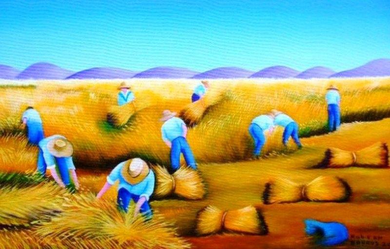 pinturas de paisajes naif arte en pinturas de paisajes naif