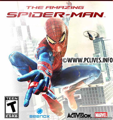 Amazing SpiderMan Pc Game cover photogragh