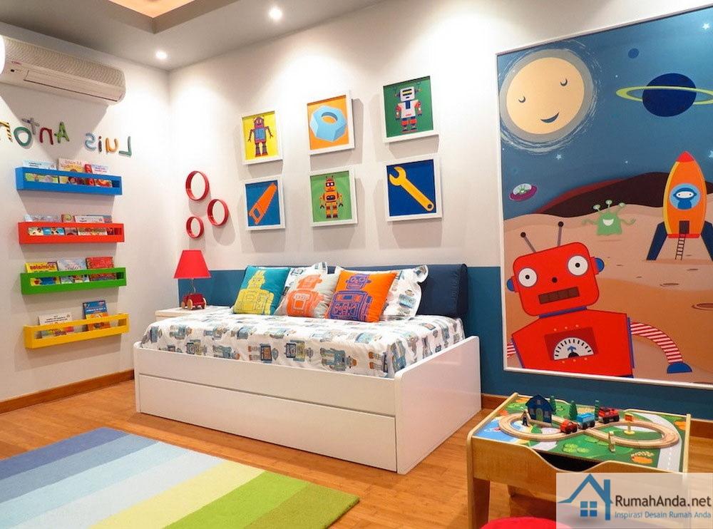 30 model ruangan anak untuk belajar dan bermain referensi