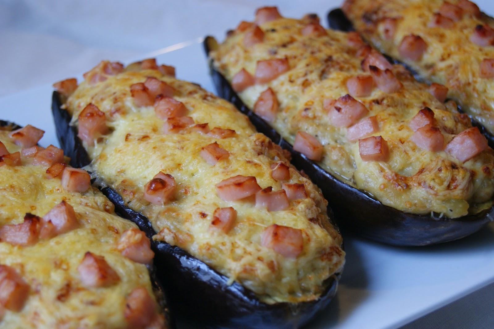Anna recetas f ciles berenjenas rellenas de pavo for Facil de cocinar