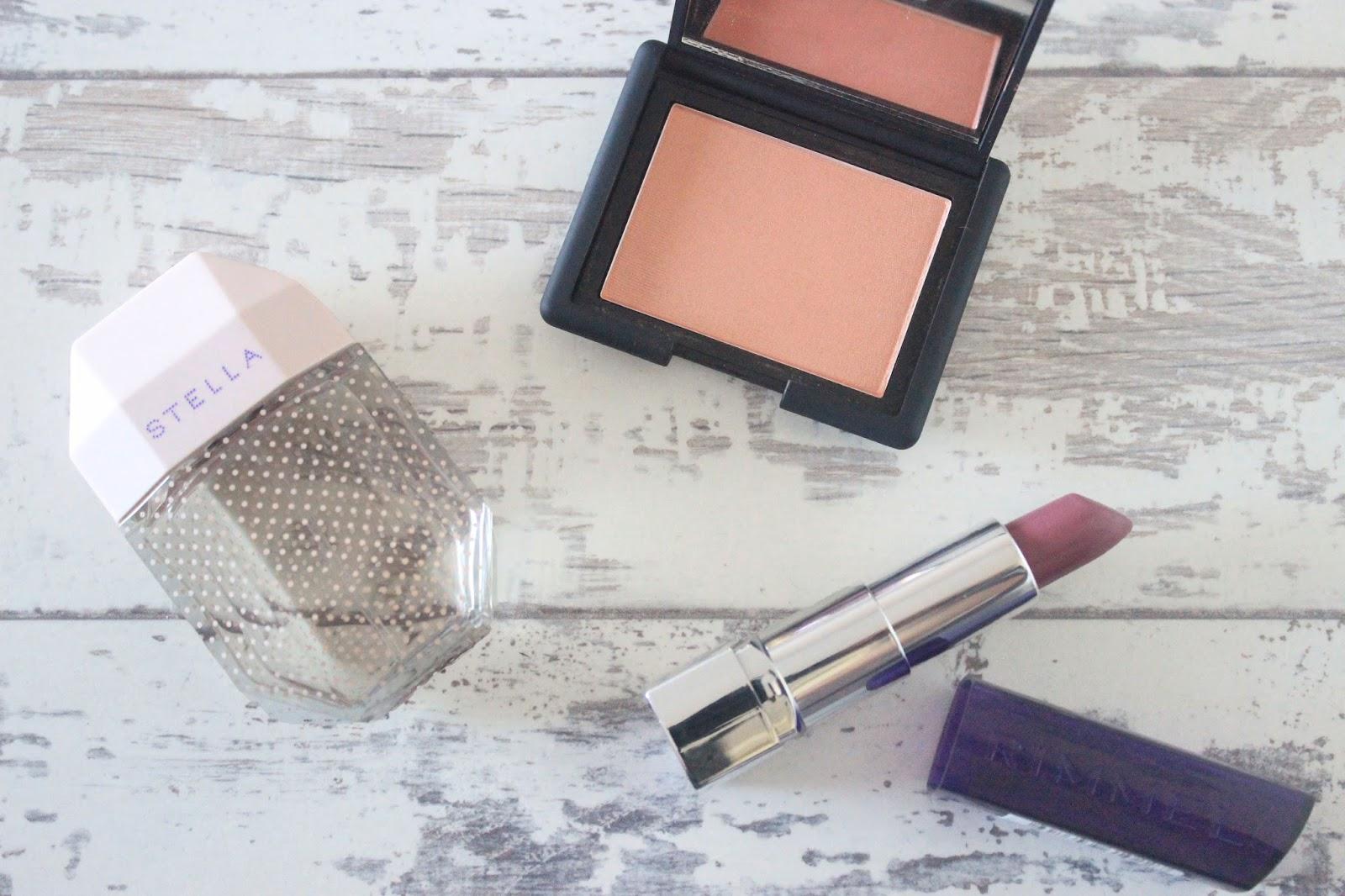 Stella McCartney EDT, Nars Luster, Rimmel Lipstick Vintage Pink