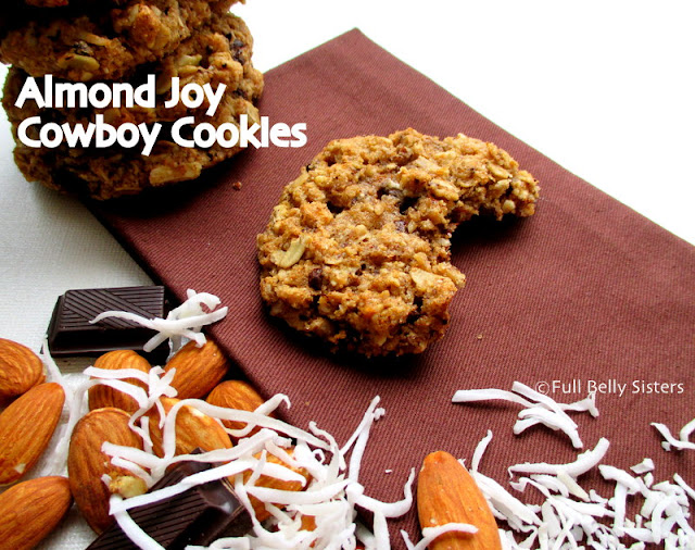 Flourless Peanut Butter Dark Chocolate Chunk Cookies