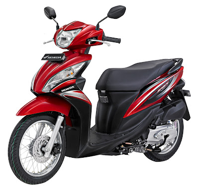 honda spacy warna merah