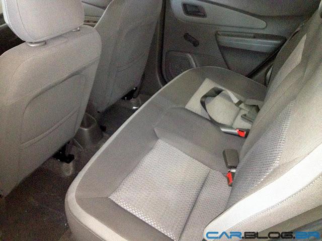 Chevrolet Cobalt LT 2013 - interior - bancos traseiros