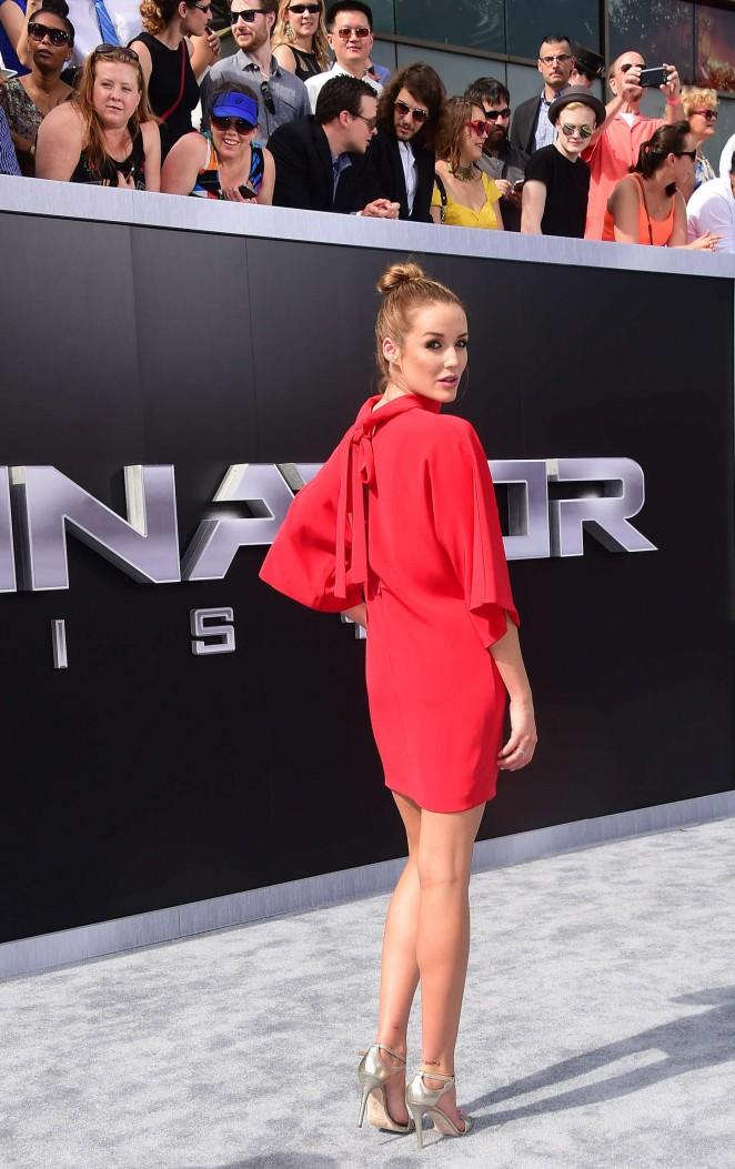 Terminator Genisys Hot actress Sarah Dumont Full HD Images & Wallpapers