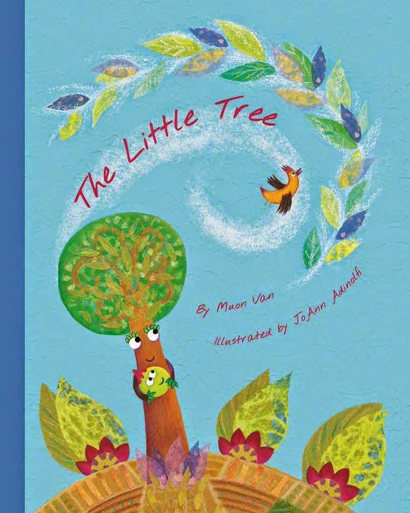 THE LITTLE TREE got a Kirkus Star and a Publishers Weekly Starred Review!