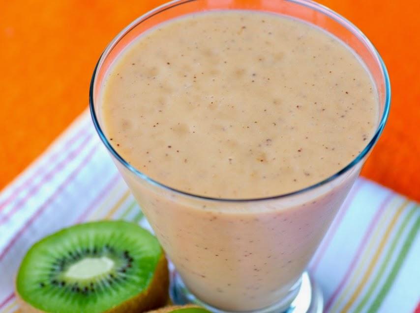 Smoothie de Papaia com Kiwi (vegana)