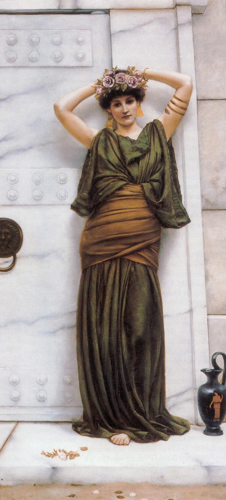 godward ianthe painting