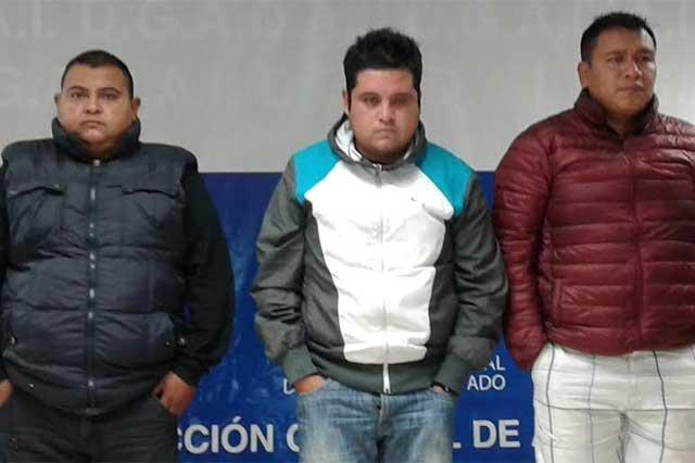 Caen tres secuestradores homicidas