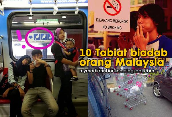 INFO 10 TABIAT BURUK ORANG MALAYSIA SHARE JIKA SETUJU